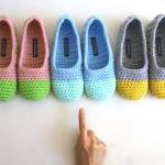 Crochet Slippers For Women..