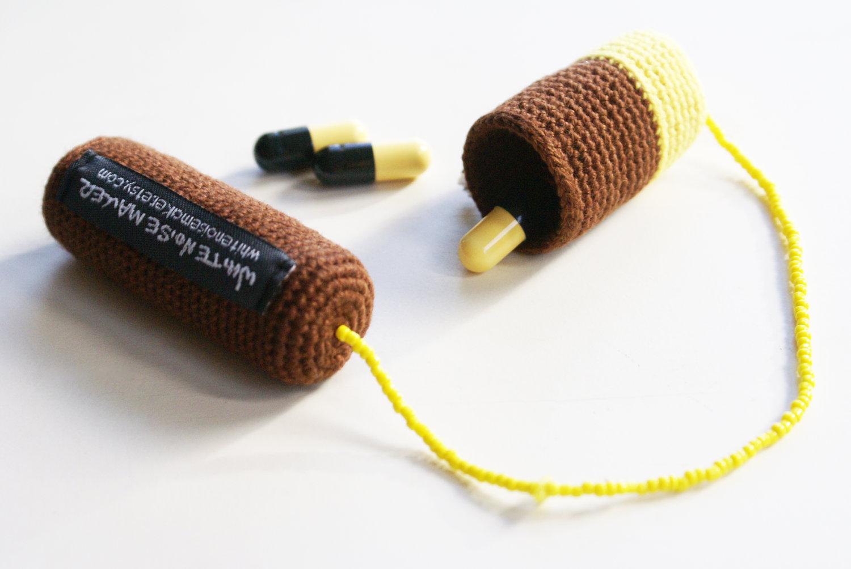 Crochet Medicine Bag Pattern : Modern Medicine Bag - Crochet Brooch on Luulla